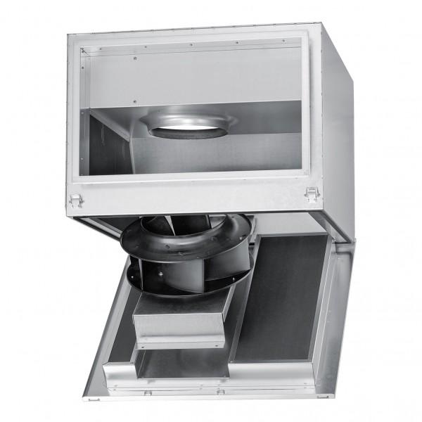 SKRD EC 500/80/50 A, SILENT Kanalventilator EC schallgedämpft, regelbar 3-PH 380-480V 50/60Hz