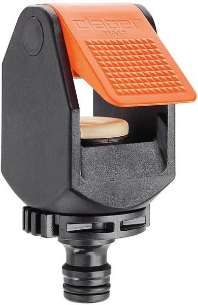 Wasserdieb-Hahnstück für Waschtischarmaturen, mit Klemmanschluss