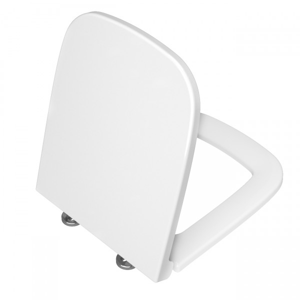 VT WC-Sitz S20 Duroplast eckig ohne Absenkautomatik Weiß Hochglanz