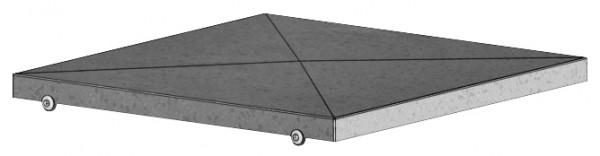 GB-WSD 710/EC630, Wetterschutzdach zu Gigabox NG 710