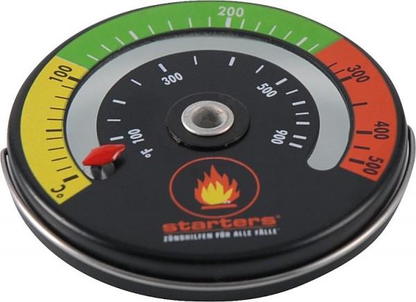 Rauchgasthermometer mit Magnet- befestigung