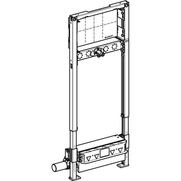 GE Duofix Element für Dusche 130cm mit Wandablauf Wandarmatur UP d50