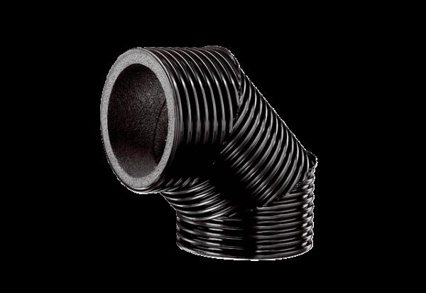 MC Bogen, wärmegedämmt MT-B160 90/45 90 Grad / 45 Grad, DN160