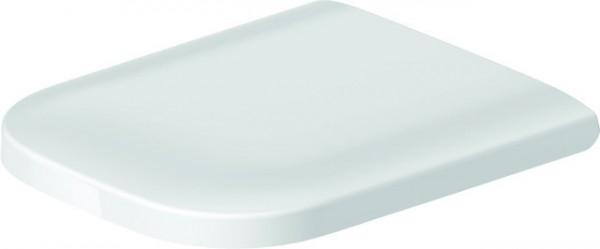 DU WC-Sitz Happy D.2 ohne SoftClose Scharniere edelstahl, weiß