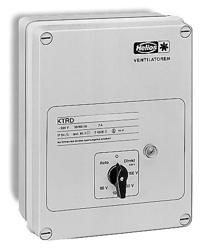 KTRD 5,5 A, Klima-Traforegler, 3-PH,400 V I max. = 5,5 A