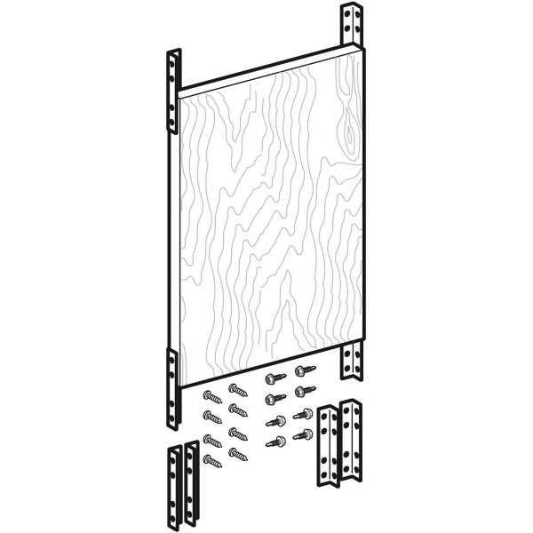 GE Duofix Montageplatte aus Holz, Universal