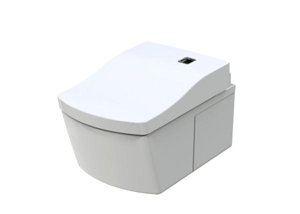 TOTO NEOREST EW Wand-WC randlos weiß für Washlet EW Tornado Flush Tiefspüler