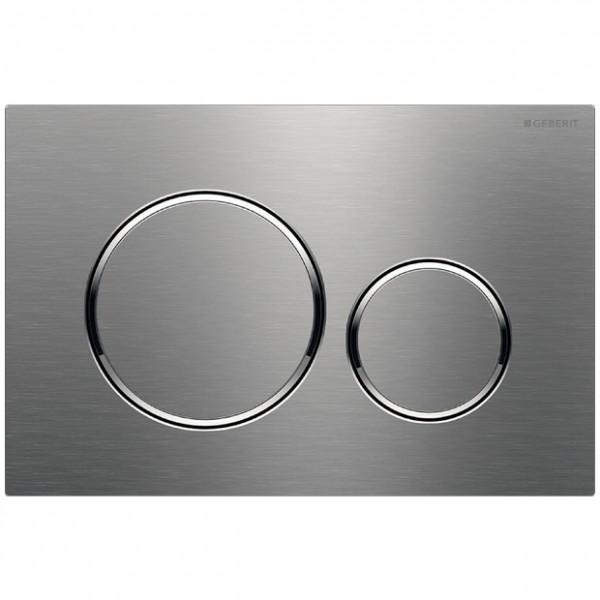 GE BetPl. Sigma20, für 2-Mengen-Sp. Edelstahl gebürstet/poliert/gebürstet