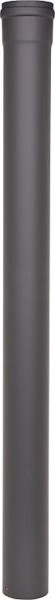 Pellet-Abgasrohr 250mm Drm. 80mm, lackiert mit Silikondichtung