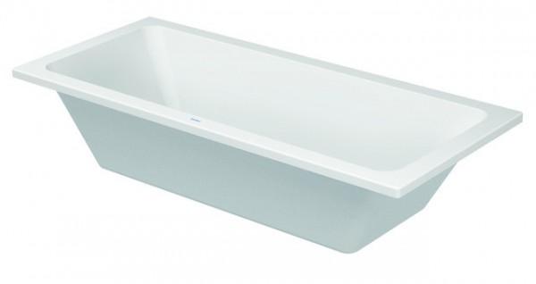 DU Badewanne D-Code 1800x800mm Einbauversion, zentraler Ablauf, weiß
