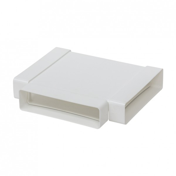 FTS, Flachkanal-T-Stück, Kunststoff weiß