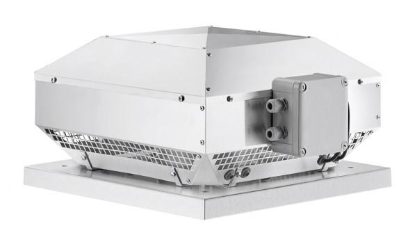 RDW 225/4, Radial-Dachventilator horizontal 1-PH, 230 V, 4-polig