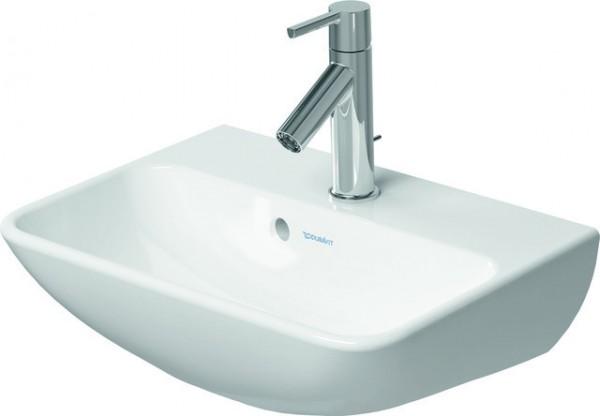 DU Handwaschbecken ME by Starck 450 mm mit ÜL, mit HLB, 1 HL, weiß