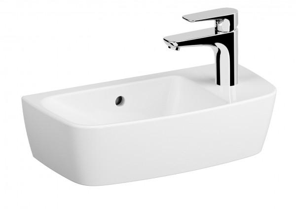 VT Handwaschbecken Shift 500 x 250 mm mHL rechts mÜL Weiß