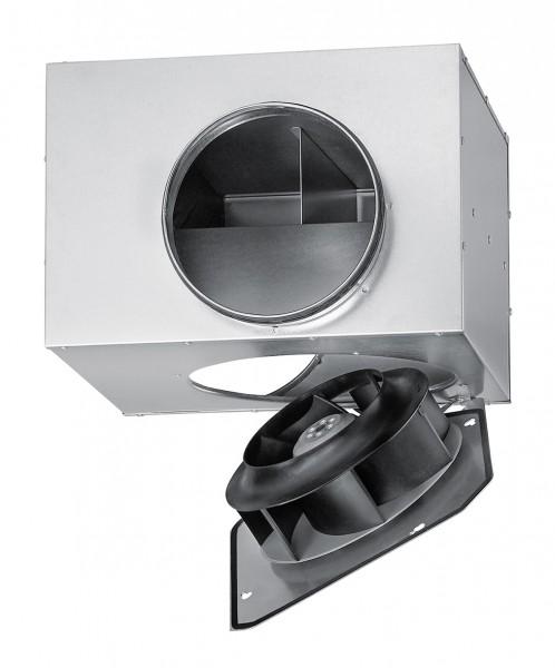 SVS 200 K, SlimVent schallgedämpfter Radialventilator mit Rohranschluß DN 200mm