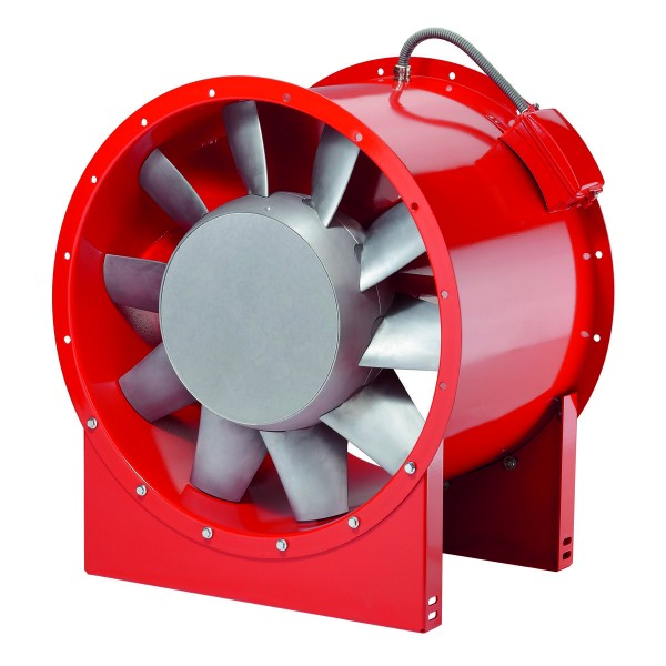 AMD 630/4 3 KW, Axial-Mitteldruckventilator 3-PH 400 V 50 Hz