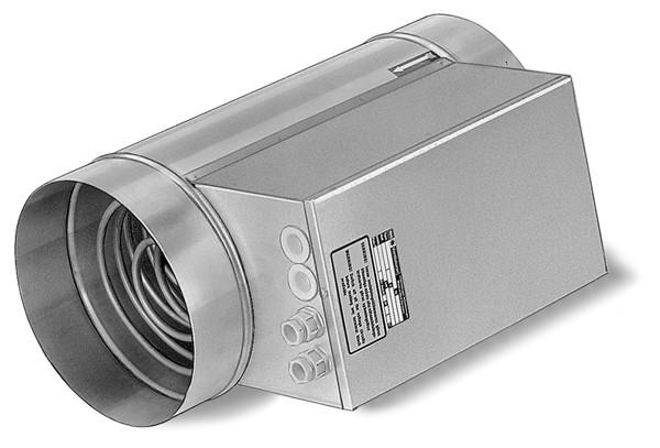 EHR-R 9/400, Elektro-Heizregister 9 KW 400 V, für Rohrdurchm. 400 mm