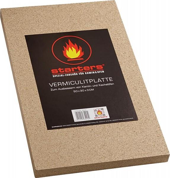 Vermiculiteplatte 30mm stark 500 x 300mm