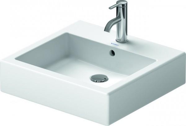DU Waschtisch Vero 500 mm m.ÜL, m.HLB, 1 HL, geschl., weiß