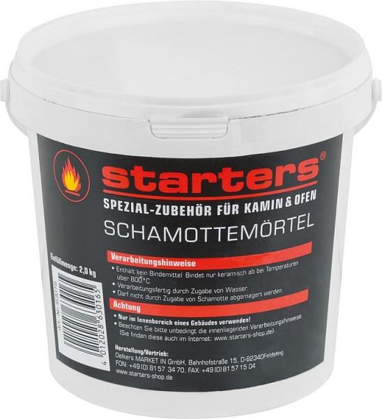 Schamottemörtel Eimer à 2 Kg