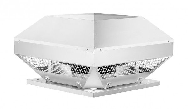 RDD 400/6 EX , Radial-Dachventilator, 3-PH horizontal, 400 V, 6-polig EX-geschützt