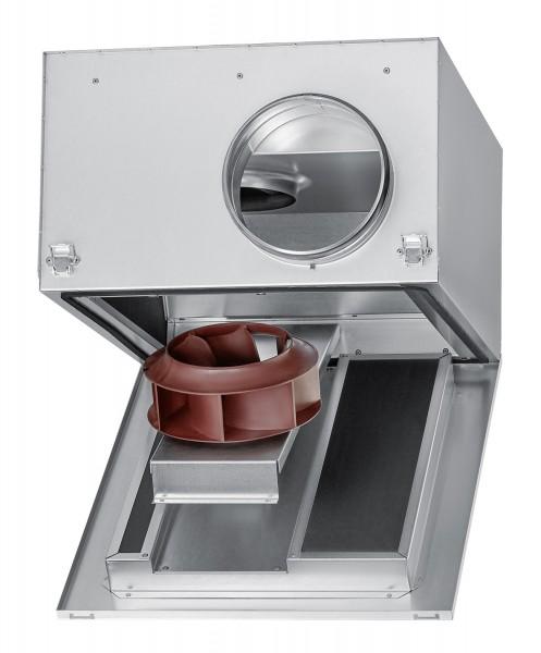 SB EC 400 A, SILENTBOX Rohrventilator schallgedämpft, DN 400 1-PH 220-277V 50/60Hz regelbar