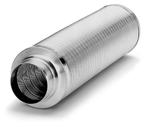 FSD 160, Flexibler Rohrschalldämpfer Länge = 1 m, DN 160 mm