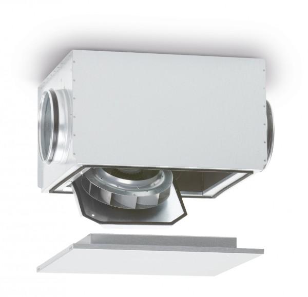 SB EC 315, SILENTBOX Rohrventilator schallgedämpft, DN 315 1-PH 200-277V 50/60Hz regelbar