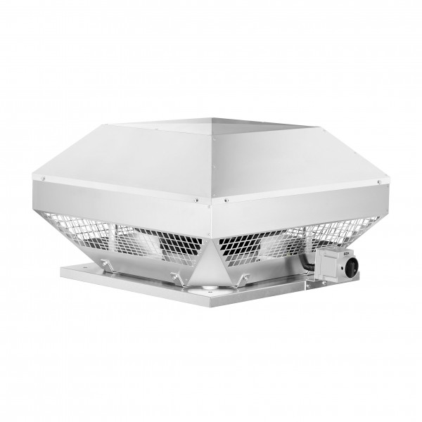 RDD 450/4, Radial-Dachventilator, 3-PH horizontal, 400 V, 4-polig